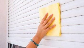como limpiar las persianas