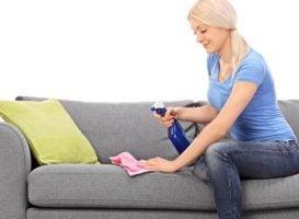 como limpiar un sofa de tela