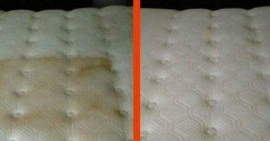 limpiar colchón sucio