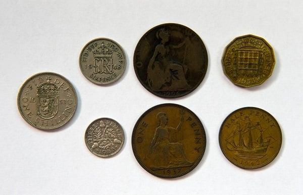 monedas sucias