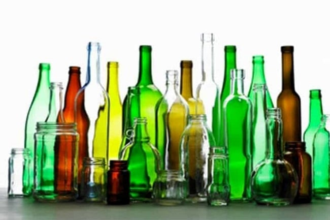 como limpiar botellas de vidrio