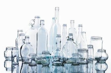 como limpiar botellas de vidrios
