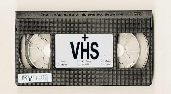 como limpiar cinta VHS