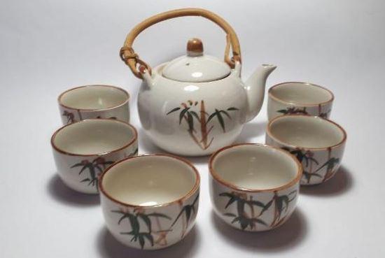 como limpiar juego de te de ceramica