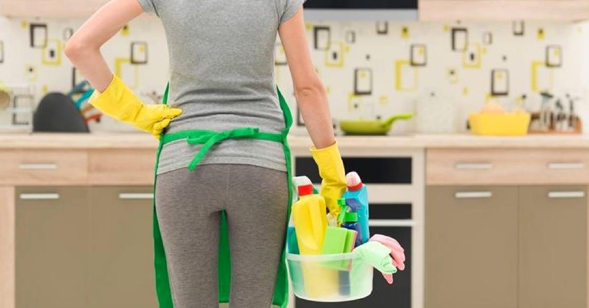 Como limpiar las puertas y los armarios de tu cocina