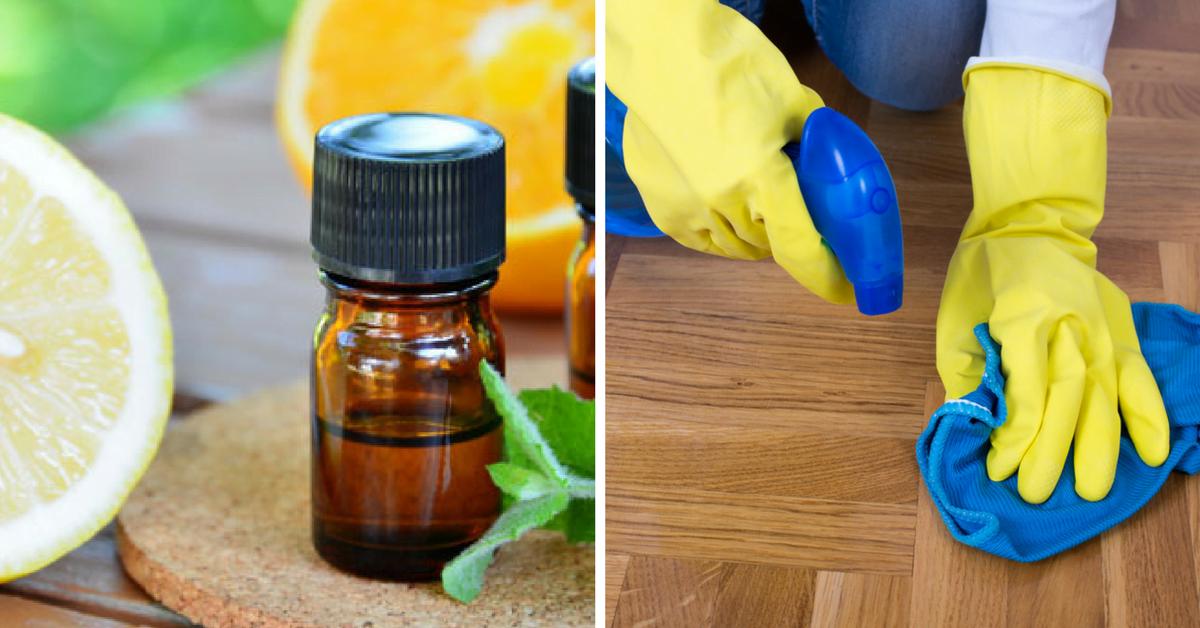 Cómo limpiar con aceites esenciales