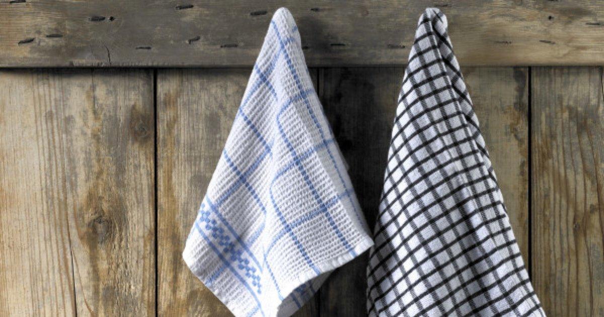 Como limpiar los paños de cocina: 5 remedios naturales para eliminar eficazmente las manchas