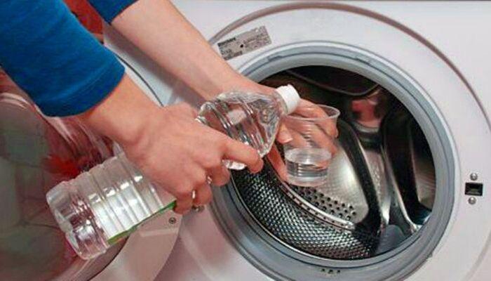 Beneficios del vinagre en la lavadora.