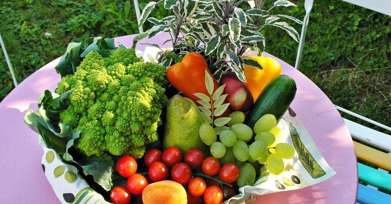 fruta vegetales