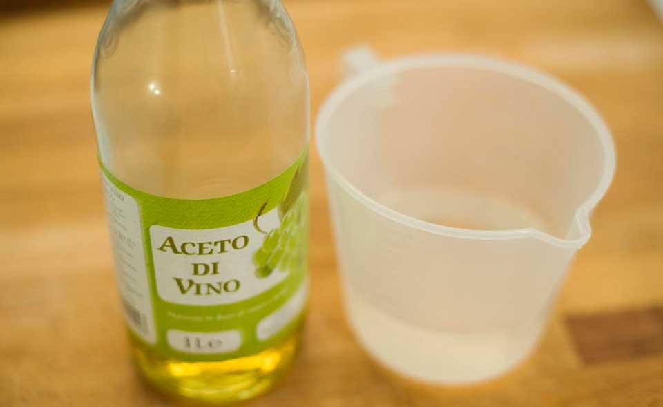 vinagre de vino blanco