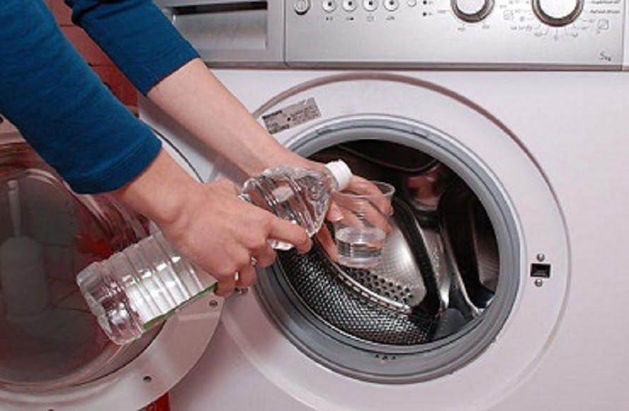 vinagre en la lavadora