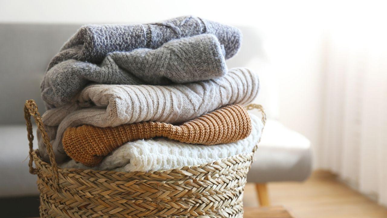 Cómo lavar suéteres de lana en la lavadora y a mano.