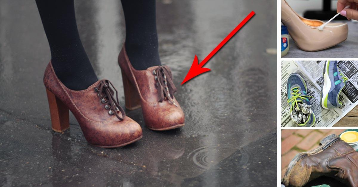 Cómo limpiar cualquier tipo de calzado con remedios naturales