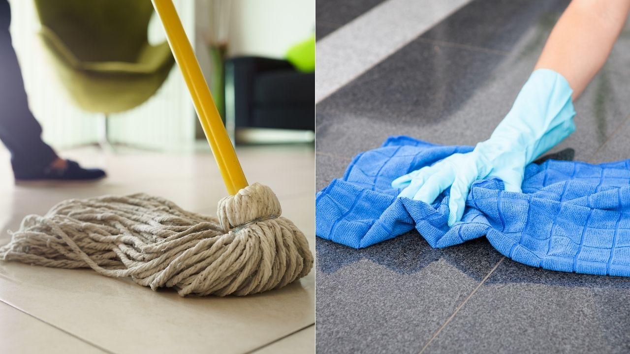 Cómo limpiar y desinfectar trapeadores y trapos con productos naturales
