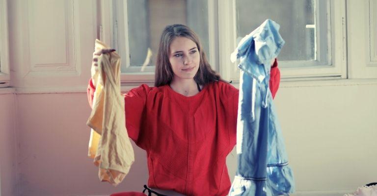 Ropa descolorida: como remediar cuando la ropa está mal