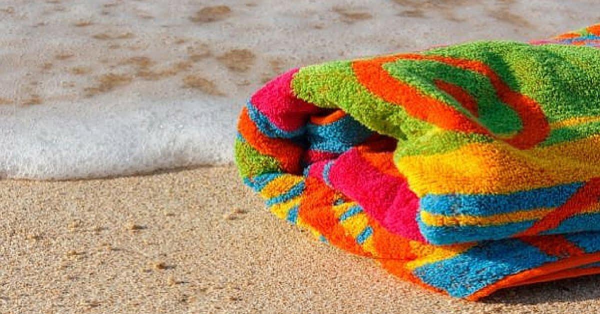 Toallas de playa: así es como lavarlas