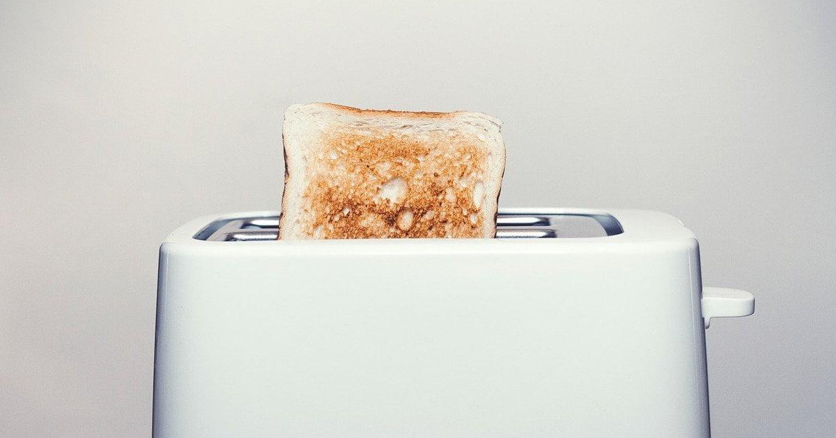 Cómo limpiar la tostadora, rápida y eficazmente