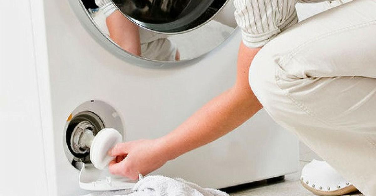 Lavadora: cómo limpiarla con productos naturales caseros