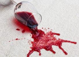 Cómo quitar las manchas de vino tinto y blanco