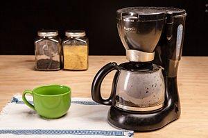 Eliminar las manchas de café secas
