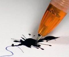 Quitar manchas de bolígrafo
