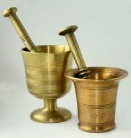 Limpieza de bronce