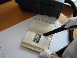 Limpeza de papel antigo