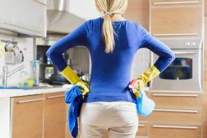 Limpieza del apartamento
