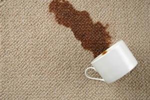 manchas en alfombras