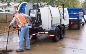 obstrucción de la limpieza de aguas residuales