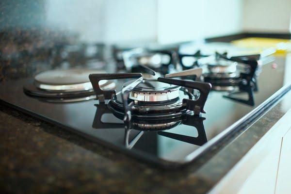 limpieza de la estufa