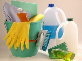 Compra de suministros de limpieza