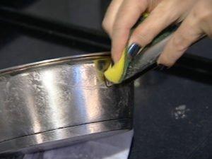 Eliminar manchas de acero inoxidable