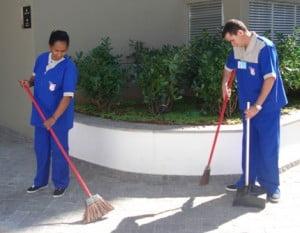 horario de limpieza en empresas
