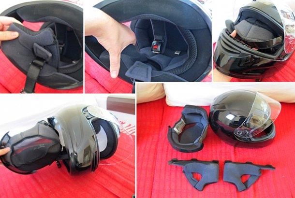 limpieza de cascos