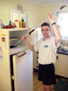limpieza de frigorífico de goma