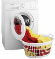 Limpieza de la cesta de la lavadora
