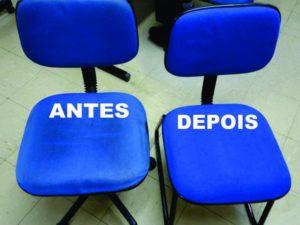 Limpieza de sillas tapizadas