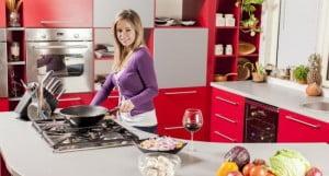 Limpieza de utensilios de cocina
