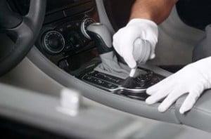 Limpieza en seco de coches