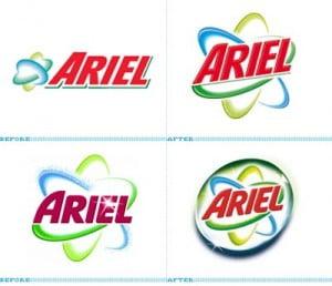 Productos de limpieza Ariel