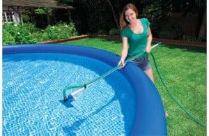 Mango telescópico para limpieza de piscinas