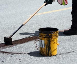 Quitar manchas de asfalto