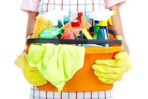 Servicio de limpieza de la casa