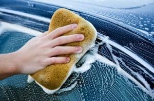 Suministros de limpieza de automóviles